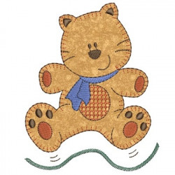 TIGGY APPLIQUE February 2015