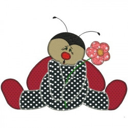 LADYBUG APPLIQUE February 2015