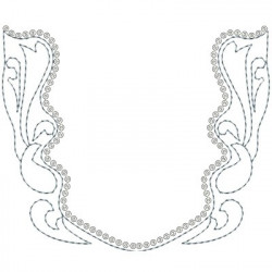 FILIGREE WITH 5 SPANGLES
