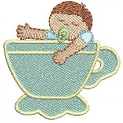 TEA BABY BOY BABY SHOWER