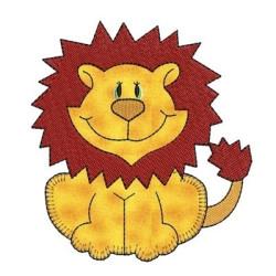 APPLIQUE LITTLE LION