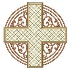 CROSS LACE 10 CM BARRED