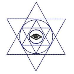 STAR WITH EYE RELIGIOUS