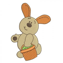 BUNNY WITH SCORER 10 CM EASTER