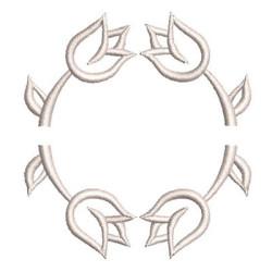MOLDURA TULIPAS MOLDURAS & MONOGRAMAS