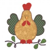 CHICKEN APPLIQUE 3