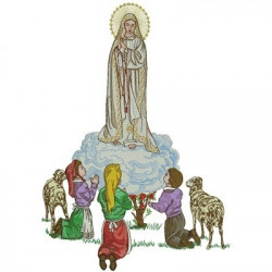OUR LADY OF FATIMA BIG CHASUBLES & GALLON