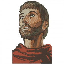 SAINT FRANCIS OF ASSISI FACE HOLY SAINTS