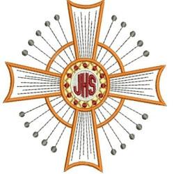JHS HÓSTIA CONSAGRADA 12 JHS & IHS