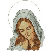 MADONNA OUR LADY WITH JESUS ??4