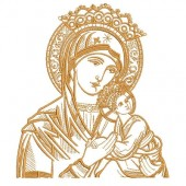 OUR LADY OF PERPETUAL HELP 16 CM VAZ.