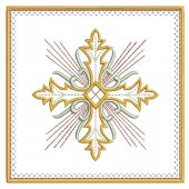 5 EMBROIDERED ALTAR CLOTHS - 14