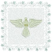 5 EMBROIDERED ALTAR CLOTHS - 18