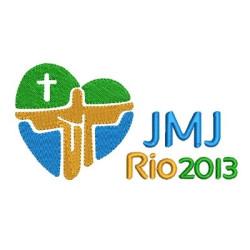 JMJ RIO 2013 12 CM ESCUDOS