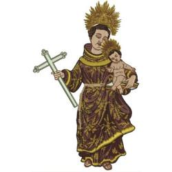 SANTO ANTÔNIO 20 CM JESUS