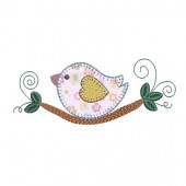 FINCH APPLIQUE