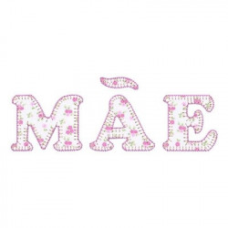 MOTHER LYRICS APPLIQUE