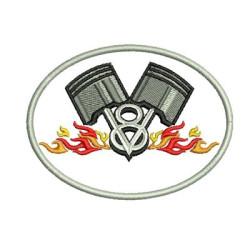V8 & CHAMAS CONTORNADO ENGINES