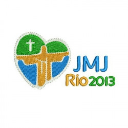 JMJ RIO 2013 9 CM SHIELDS