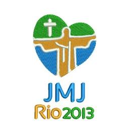 JMJ RIO 2013 10 CM DE ALT SHIELDS