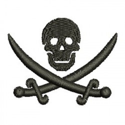 SKULL PIRATE SMALL SKULLS HALLOWEEN