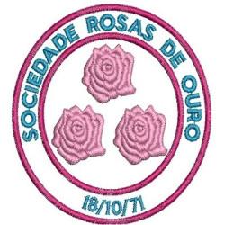 SOCIEDADE ROSAS DE OURO 8,5 CM