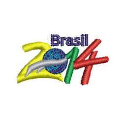 BRASIL 2014 - 4 CM BRASIL