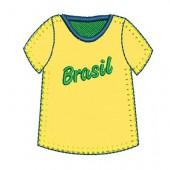 BRAZIL SHIRT APPLIQUE