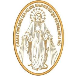 N. S. MEDALLA DE GRACIAS 18 REPARTO MEDALLAS