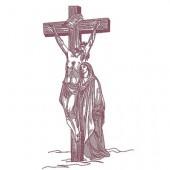 JESUS ??CRUCIFIED 22 CM