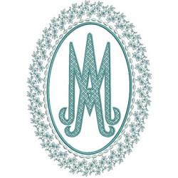 MEDAL MARIAN 6 RELIGIOUS FRAMES