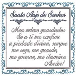 ORAÇÃO SANTO ANJO 13 CM