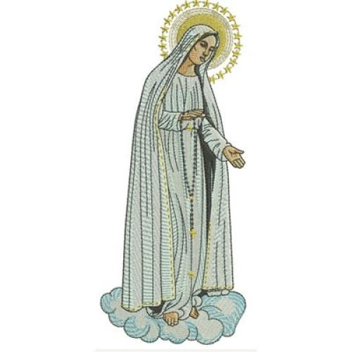 Nossa Senhora De Fatima 19 Cm