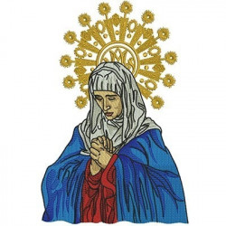OUR LADY OF PAINS 28 CM CHASUBLES & GALLON