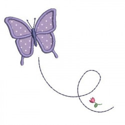 APPLIQUE BUTTERFLY ANIMAL