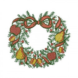 GARLAND FRUIT CHRISTMAS