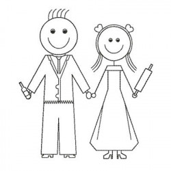 WEDDING COUPLE 2 MARRIAGE