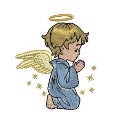 LITTLE ANGEL PRAYING CHILD RELIGIOUS