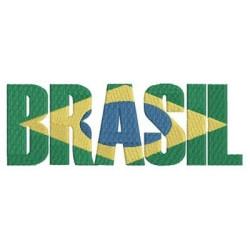 BRASIL BANDERA ESCRITA