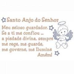 ORACIÓN SANTO ÁNGEL 19 X 10
