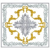 5 EMBROIDERED ALTAR CLOTHS - 13