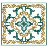 5 EMBROIDERED ALTAR CLOTHS CROSS PROVENCE- 107