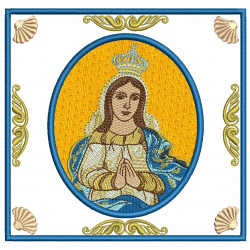 EMBROIDERED ALTAR CLOTHS - OUR LADY OF CONCEPTION 110