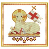 5 EMBROIDERED ALTAR CLOTHS -
