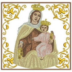 EMBROIDERED ALTAR CLOTHS OUR LADY OF CARMEL