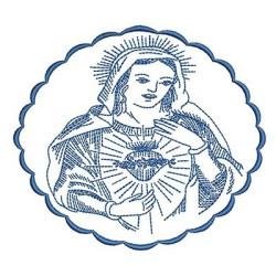 MEDAL VIRGIN MARY