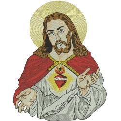 JESUS 24 CM SACRED HEART August 2016
