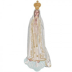 OUR LADY OF FATIMA 25 CM 2
