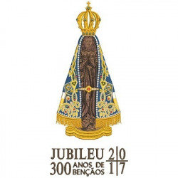 OUR LADY APPEARED JUBILEE 35 CM