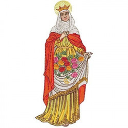 SANTA ISABEL 20 CM